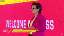Welcome address at People Matters TechHR 2017