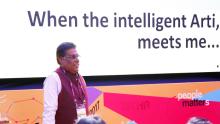 When intelligent Arty met Ashish Vidyarthi