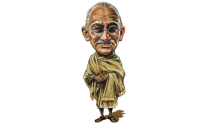 One man who inspired the world - Mahatma Gandhi & his leadership value