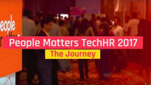 People Matters TechHR 2017: The Journey