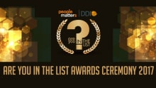 Are You In The List 2017 Award Ceremony