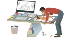 Striking the right balance between working from home and parenting