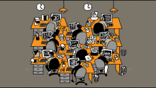 Working in an open office is distracting: Study