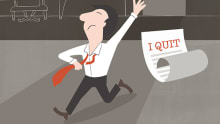 How should leaders effectively manage disruptions?