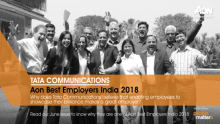 Why does Tata Comm believe in inspiring employees to show their talent