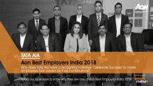 Here's why Tata AIA made it to the Aon Best Employers 2018 list