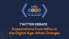 "Twitter debate on ""Expectations from HiPos in the Digital Age"""