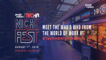 Bringing to you for the first time-People Matters TechHR NightFest!