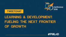 Tweetchat on L&D imperatives to fuel the next frontier of growth