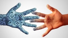 Is HR prepared to manage both man and machine?