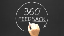 Periodic 360-degree feedback system is better than annual performance reviews