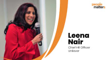 Rapid Fire with Unilever's CHRO, Leena Nair