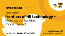 Tweetchat on the new frontiers of HR technology
