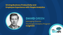Driving Business Productivity & Employee Experience with People Analytics