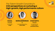 CXO perspectives on nurturing a high-growth, high-performance culture