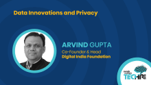 Data innovations and privacy | Arvind Gupta at People Matters TechHR 2019
