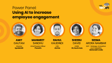 Using AI to increase employee engagement