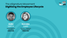 The eSignature movement: Digitising the employee lifecycle