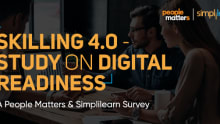 Skilling 4.0 - A People Matters and Simplilearn research Study on Digital Readiness