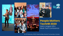 Why attend People Matters TechHR Singapore 2020?