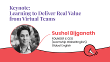 Learning to deliver real value from virtual teams