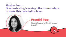 Demonstrating learning effectiveness: How to make this bane into a boon