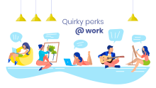 Quirky workplace perks you wish you got in 2020!
