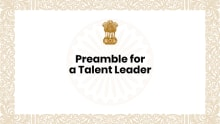 What should a Preamble for Talent Leaders look like?