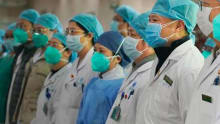Hong Kong medical professionals go on strike