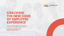 Oracle cracking the code of employee experience