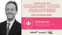 For HR professionals, it is time to be true leaders: Josh Bersin