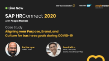 Aligning purpose, brand and culture during COVID 19