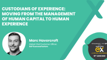 From human capital to human experience: The components of employee experience