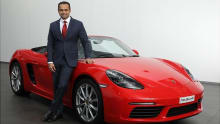 Porsche India Director Pavan Shetty steps down
