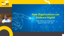 How organizations can embrace digital