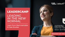 Leading in the new normal: The Leadercamp