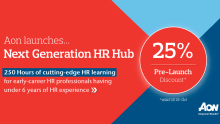 Aon launches Next Generation HR Hub for early-career HR professionals