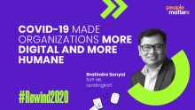 COVID-19 made organizations more digital and more humane: Bratindra Sanyal, Lendingkart
