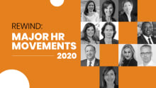 Major HR movements in the year 2020