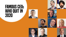 Famous CEOs who quit in 2020
