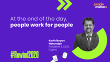 At the end of the day, people work for people: Karthikeyan Natarajan, COO, Cyient