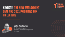 The New Employment Deal and 2021 priorities for HR leaders: Insights from TLC
