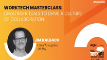 Creating rituals to drive a collaborative culture