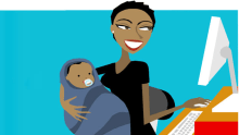 Supporting working moms through COVID-19  Here's how