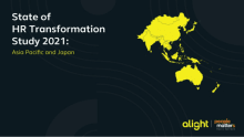 Alight Solutions' State of HR Transformation Study 2021