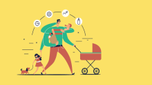 Here's how employers can help working dads