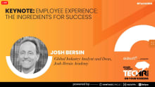 EX is about creating a sense of belonging: Josh Bersin