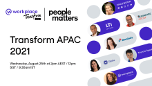 Get a guide on creating a connected workplace at Transform APAC 2021