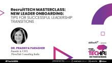 New leader onboarding: Tips for successful leadership transitions