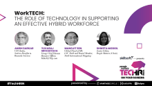 The role of technology in supporting an effective hybrid workforce